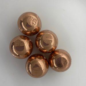 Sphère en cuivre