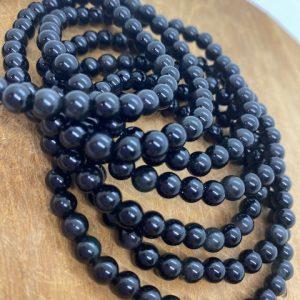 Bracelet Obsidienne Œil Céleste